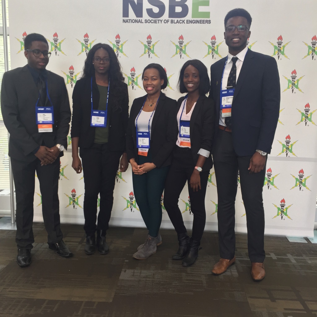 NSBE Conference 2017 Mcmaster team.