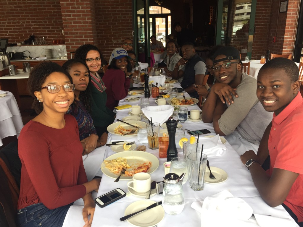 Lunch with University of Toronto NSBE chapter.